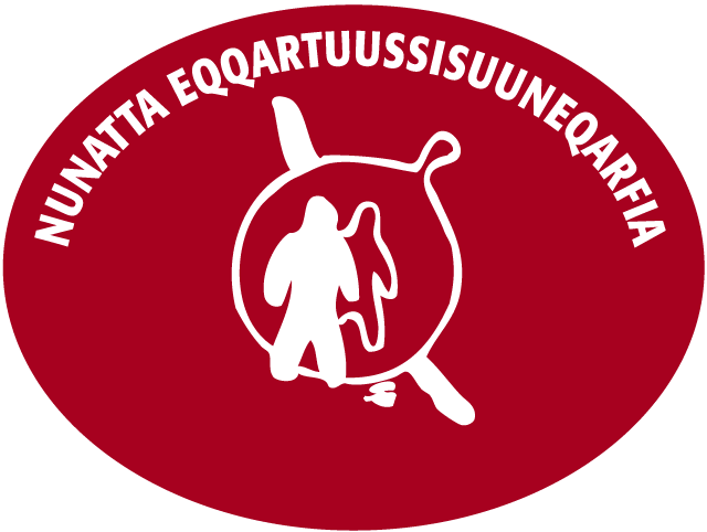 Nunatta Eqqartuussisuuneqarfia Logo